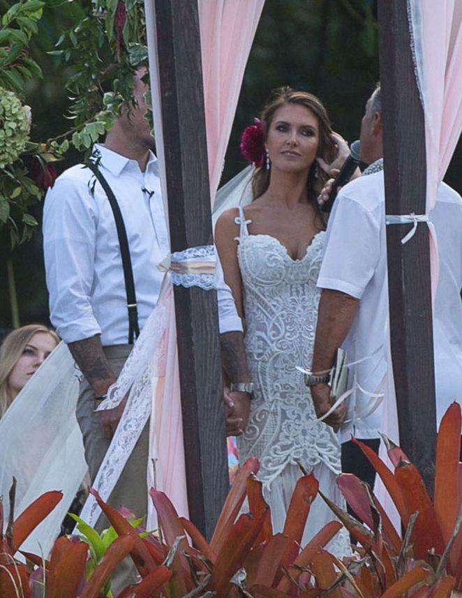 Audrina Patridge Marries Corey Bohan in Hawaii