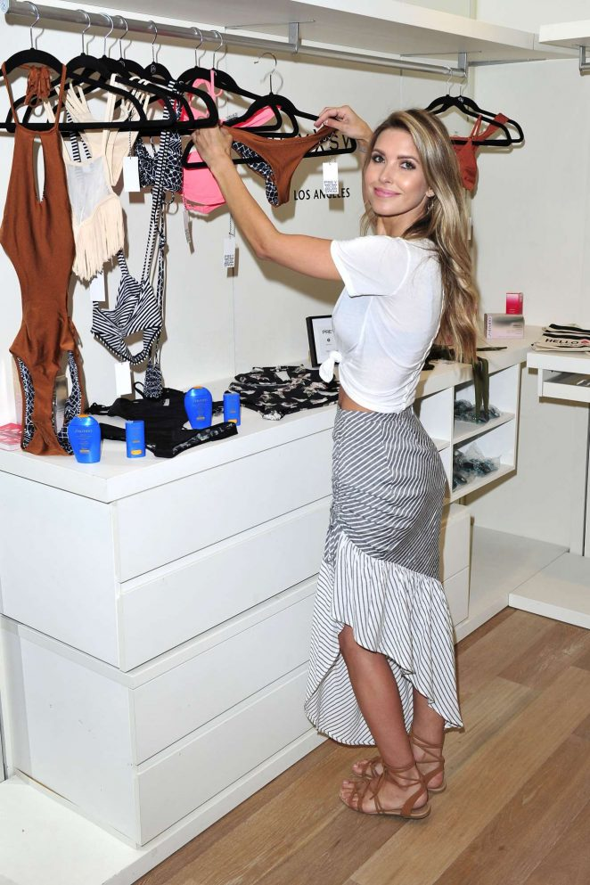 Audrina Patridge - Shiseidos summer kick-off event in Malibu