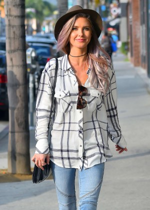 Audrina Patridge in Jeans Out in Hollywood