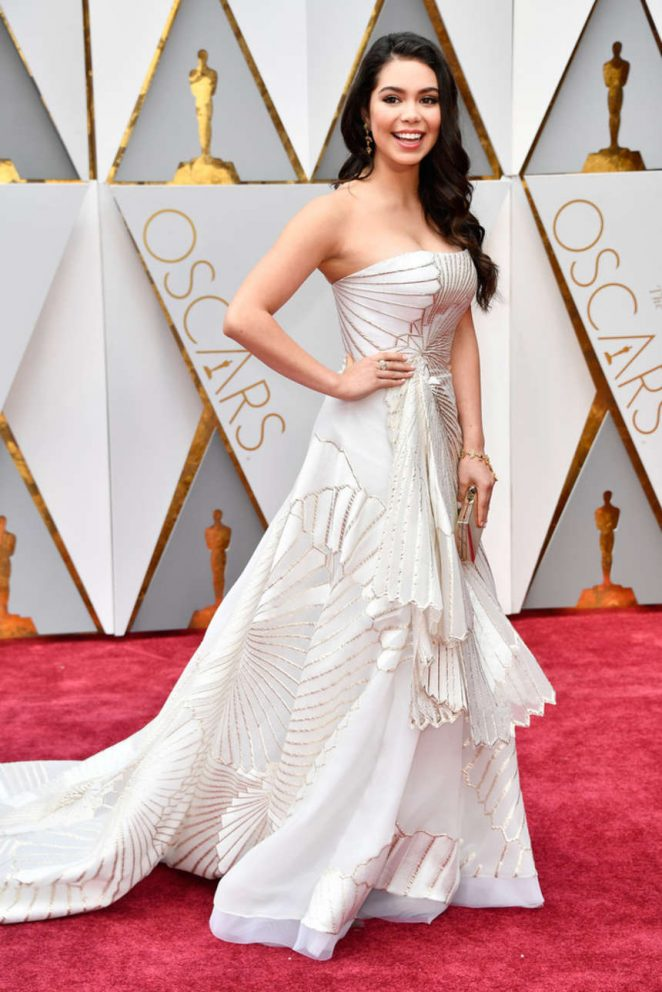 Auli'i Cravalho - 2017 Academy Awards in Hollywood