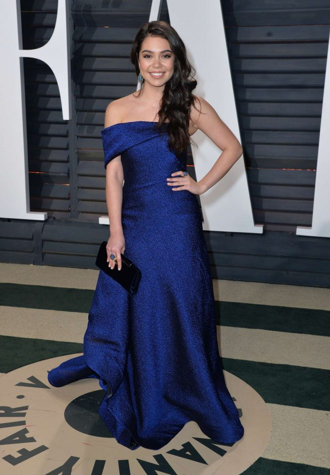 Auli'i Cravalho - 2017 Vanity Fair Oscar Party in Hollywood