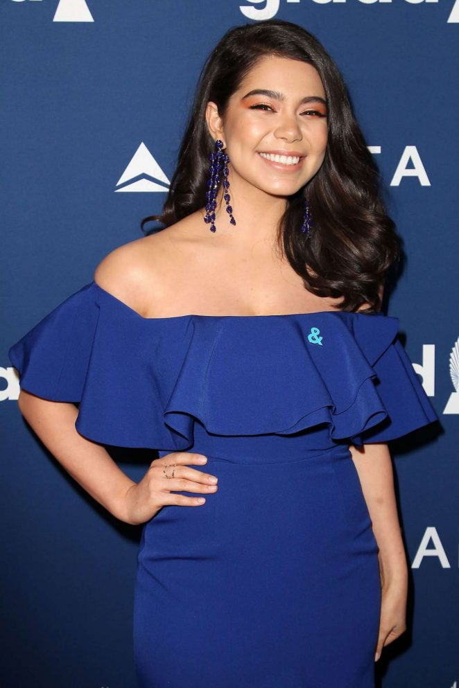 Auli'i Cravalho - 2018 GLAAD Media Awards in New York