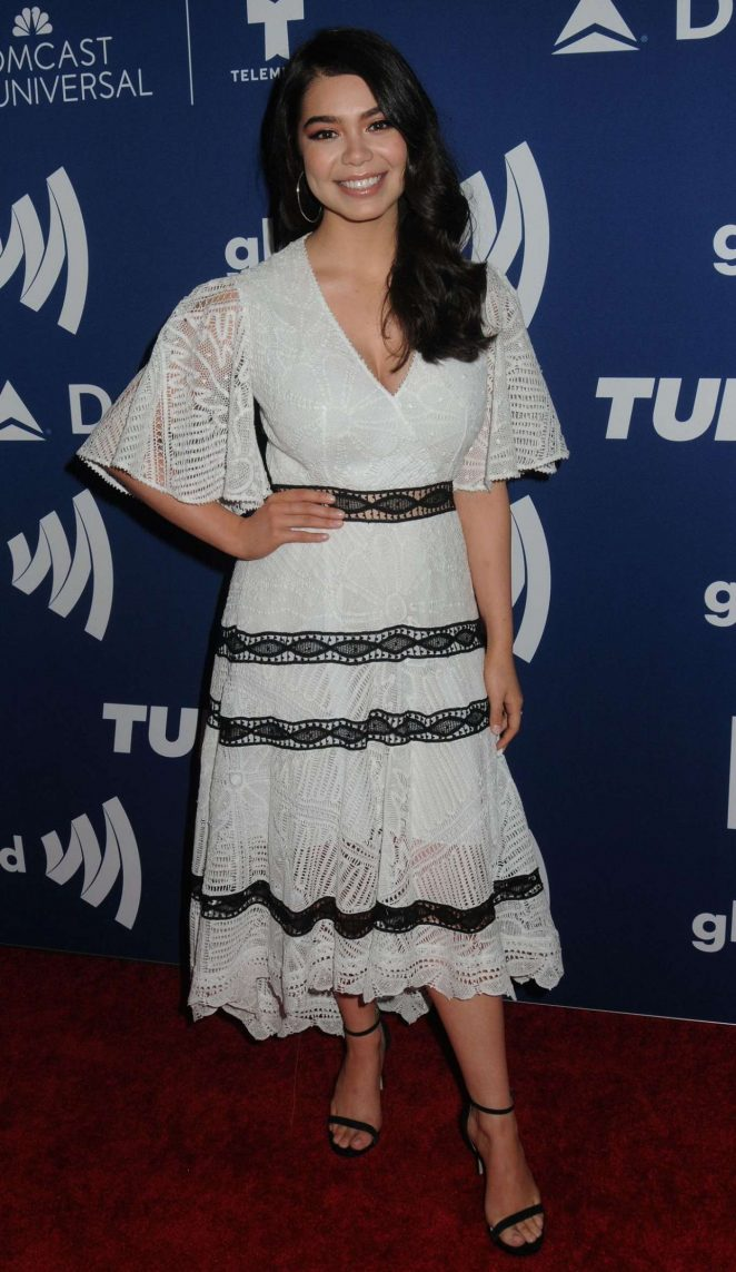 Auli'i Cravalho - GLAAD Media Awards Rising Stars Luncheon in NY