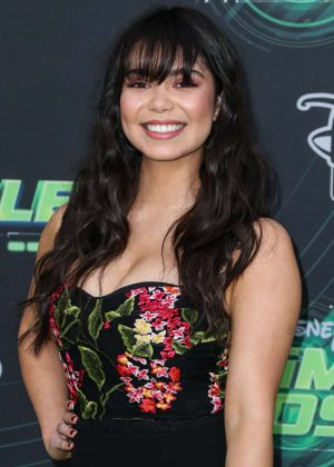 Auli'i Cravalho - 'Kim Possible' Premiere in Los Angeles