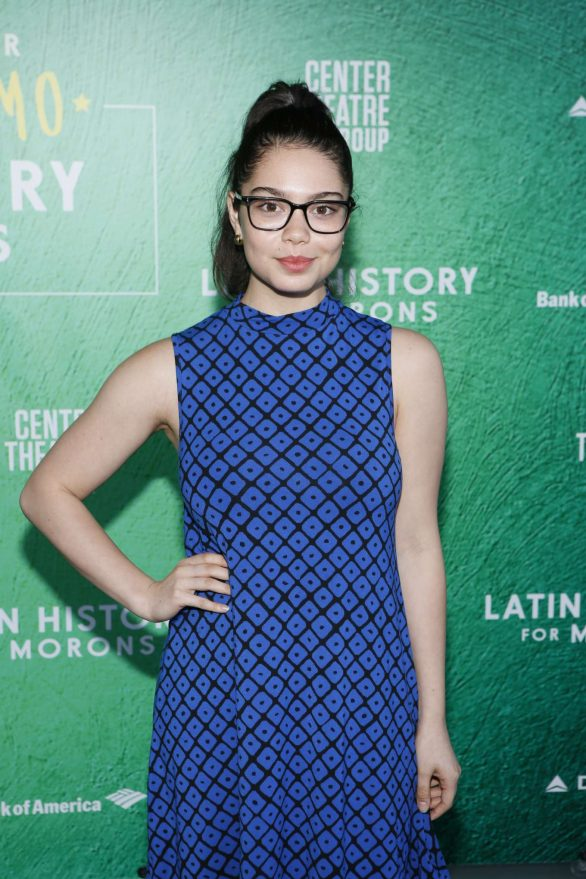 Auli'i Cravalho - 'Latin History For Morons' Opening Night Performance in LA