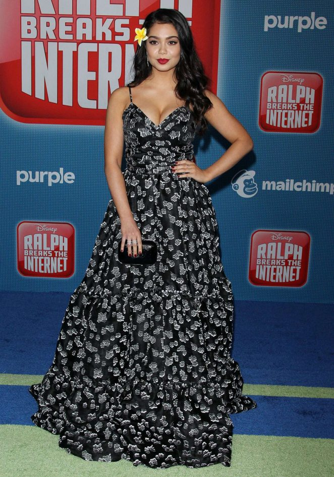 Auli'i Cravalho - 'Ralph Breaks the Internet' Premiere in Hollywood