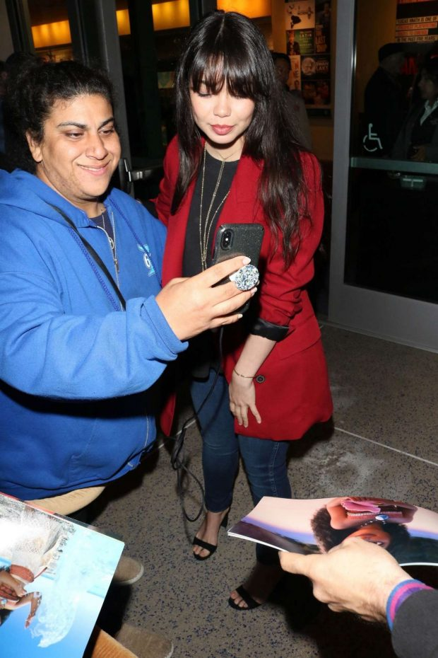 Aulii Cravalho - Opening of Center Theatre Group Falsettos at Ahmanson Theatre in LA