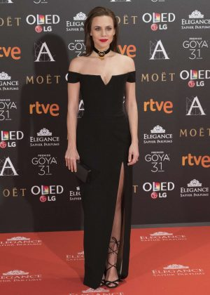Aura Garrido - Goya Cinema Awards 2017 in Madrid