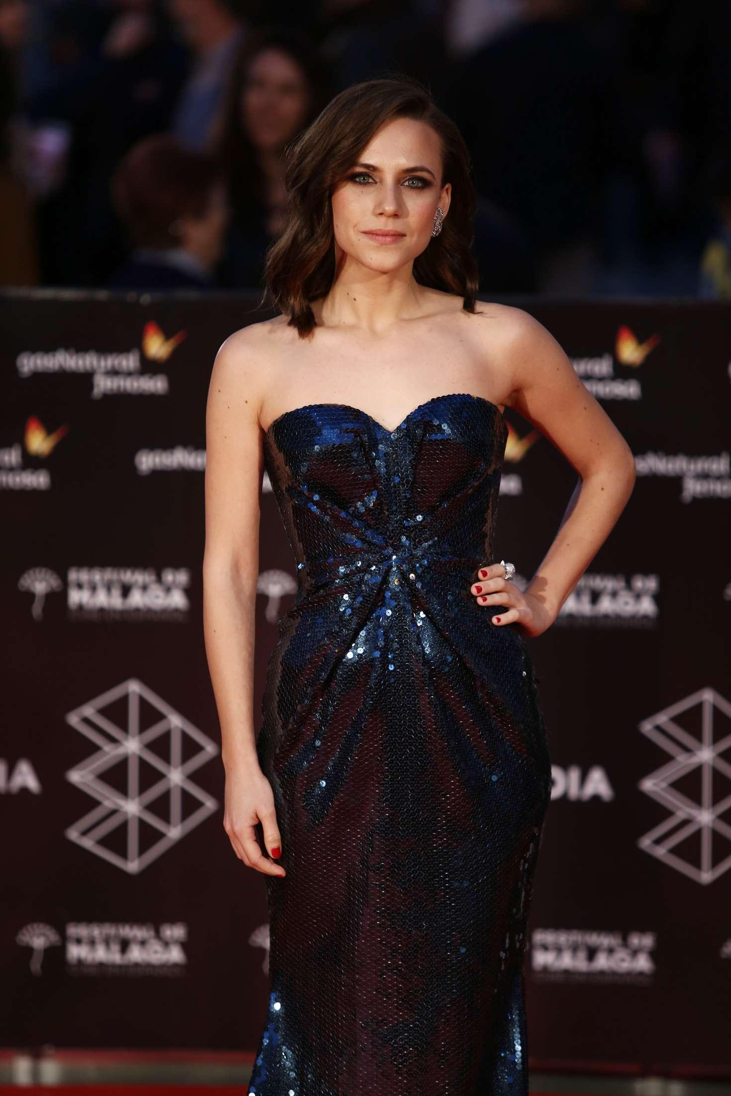 Aura Garrido - Malaga Sur Award Ceremony 2018