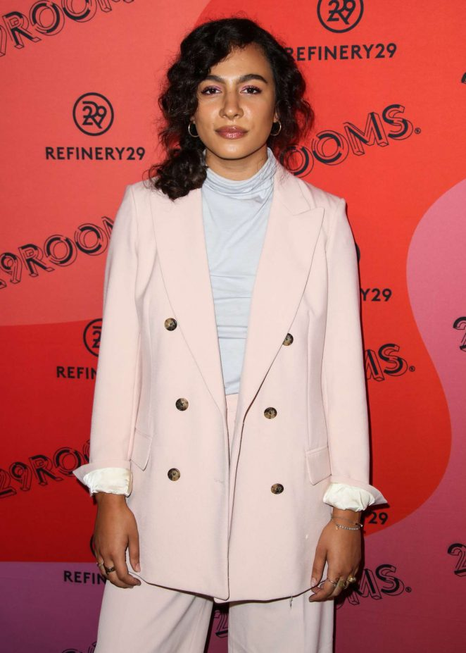 Aurora Perrineau - Refinery29 29Rooms New York 2018 - Expand Your Reality Opening Party