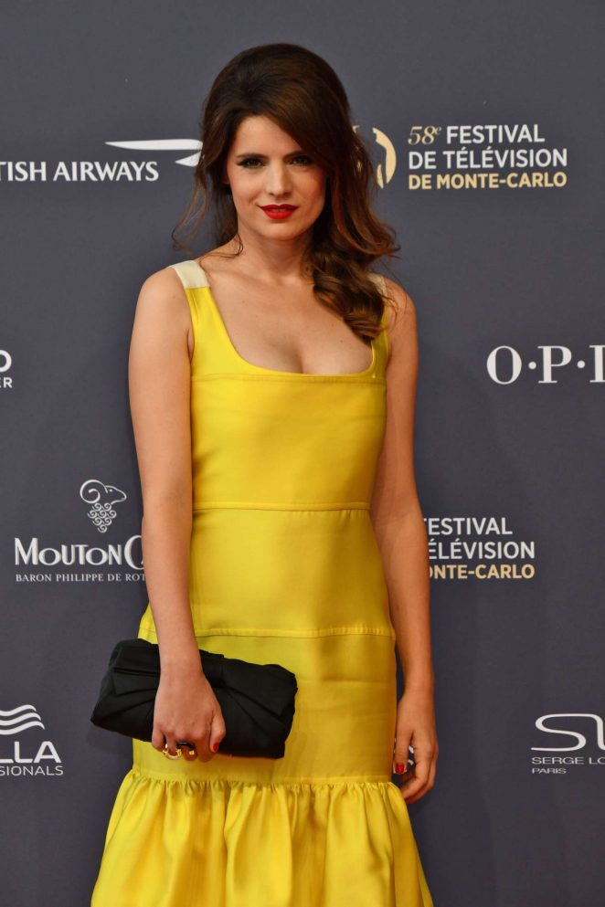 Aurore Erguy - 2018 International Television Festival Opening Ceremony in Monte Carlo