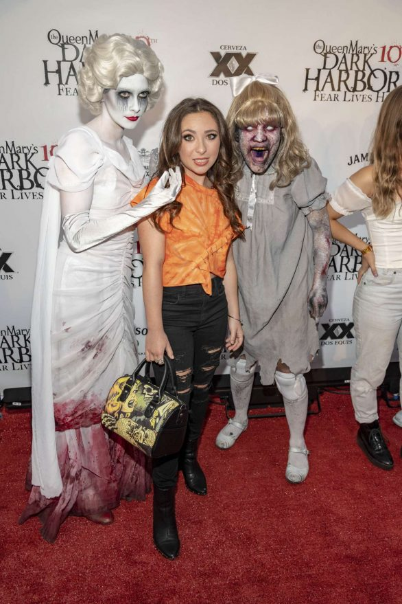Ava Cantrell - Queen Mary's 10th Annual Dark Harbor Media and VIP Night in Long Beach