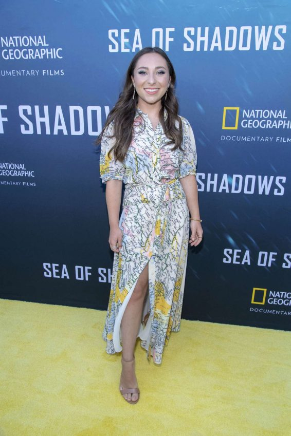 Ava Cantrell - 'Sea of Shadows' Premiere in Los Angeles