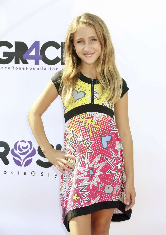 Ava Kolker - Grace Rose's Fashion Show Fundraiser for Cystic Fibrosis in LA