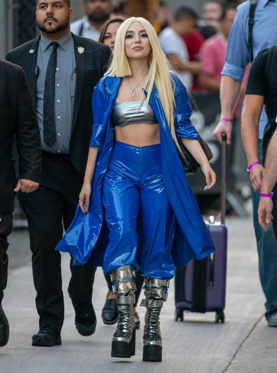 Ava Max - Arrives at 'Jimmy Kimmel Live' in Hollywood