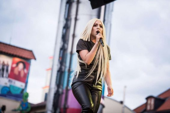 Ava Max - Performing on Gröna Lund Festival in Stockholm - Sweden