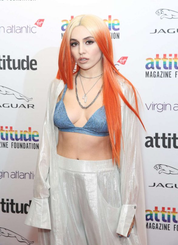 Ava Max - Virgin Atlantic Attitude Awards powered by Jaguar 2019 in London