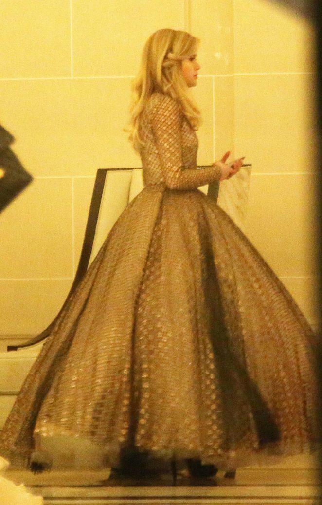 Ava Phillippe - Arrives at 'Le Bal des debutantes' in Paris