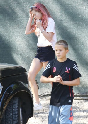 Ava Phillippe in Short Shorts -08