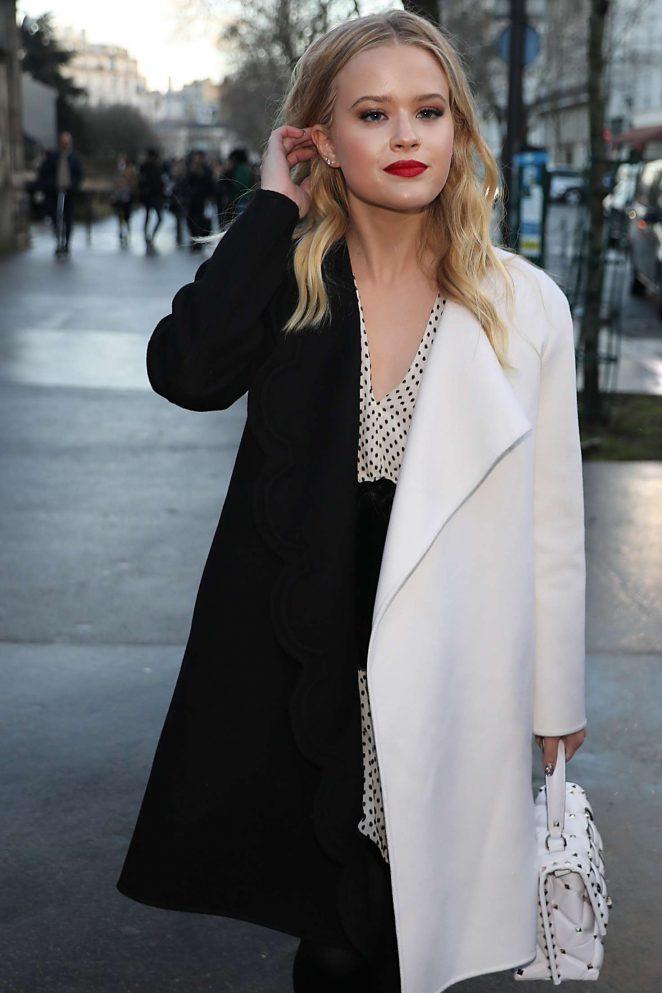 Ava Phillippe - Leaving Valentino Fashion Show 2018 in Paris