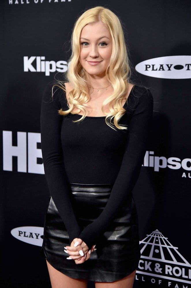 Ava Sambora - 2018l Rock & Roll Hall of Fame Induction Ceremony in Cleveland