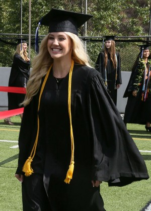 Ava Sambora - Graduates from Viewpoint High School in Calabasas