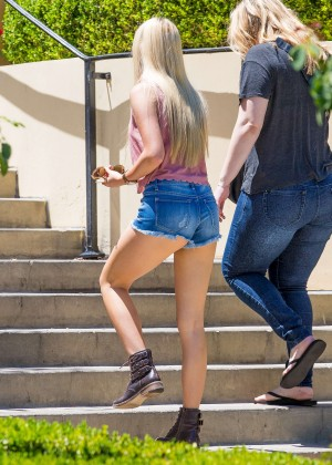 Ava Sambora in Jeans Shorts -12