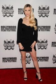 Ava Sambora - On a red carpet at A Dark Foe premiere in Los Angeles
