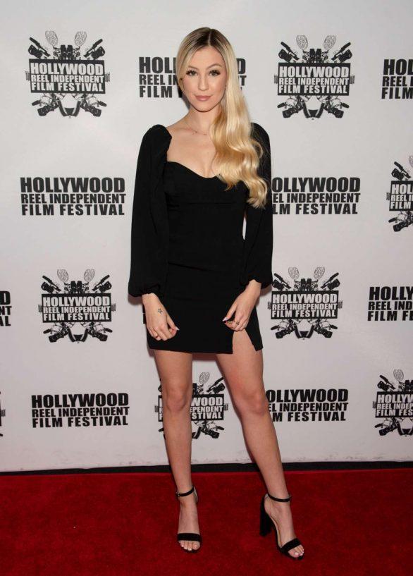 Ava Sambora - On a red carpet at A Dark Foe premiere in Los Angeles