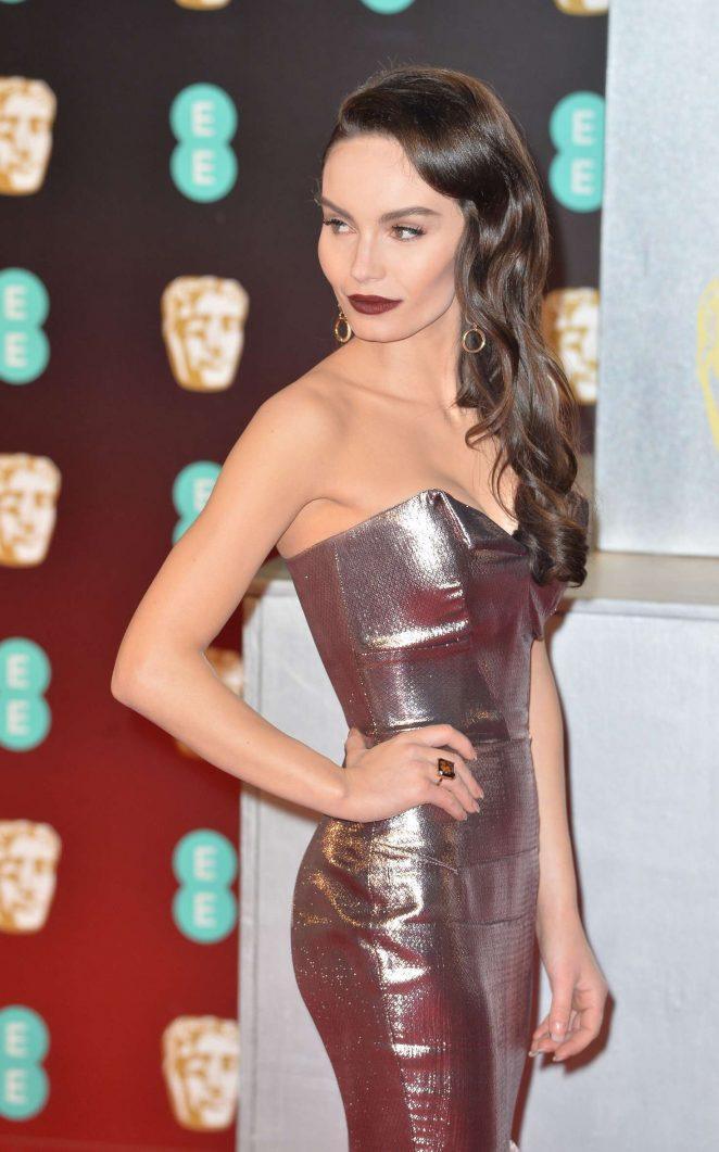 Ava West - 2017 British Academy Film Awards in London
