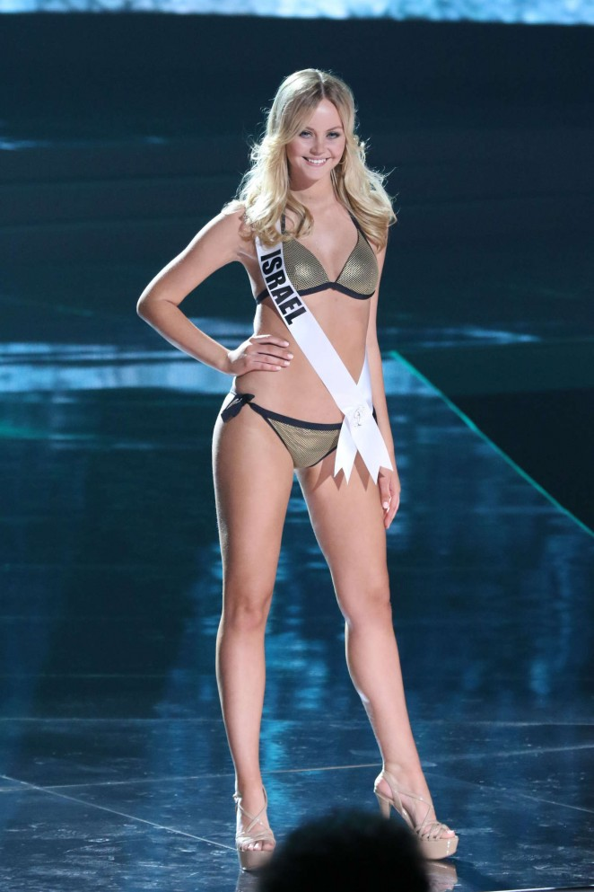 Avigail Alfatov - Miss Universe 2015 Preliminary Round in Las Vegas