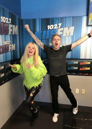Avril Lavigne - 102.7 KIIS-FM in Los Angeles