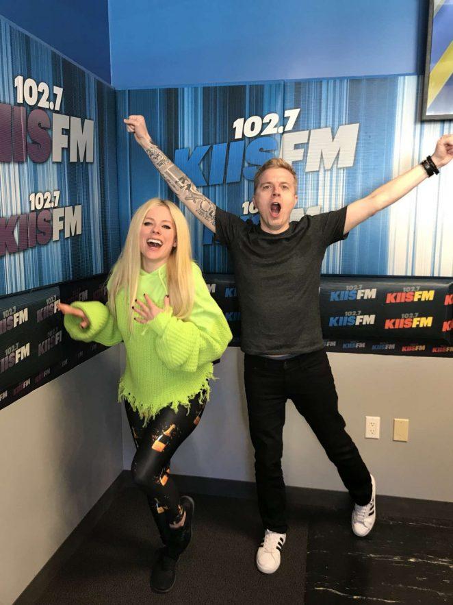 Avril Lavigne – 102.7 KIIS-FM in Los Angeles