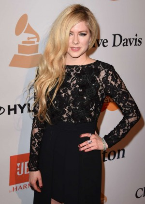 Avril Lavigne - 2016 Pre Grammy Gala and Salute to Industry Icons with Clive Davis in LA
