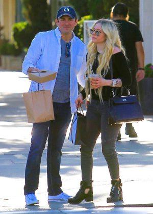 Avril Lavigne and boyfriend Phillip Sarofim - Out in Beverly Hills