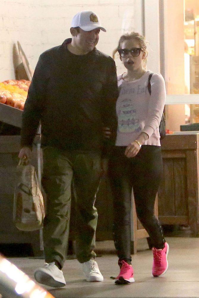 Avril Lavigne and her boyfriend Phillip Sarofim - Out in Beverly Hills