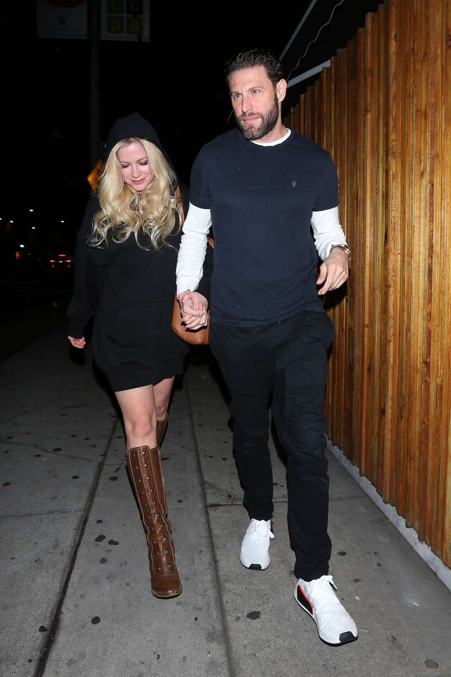 Avril Lavigne at the Nice Guy Club in West Hollywood