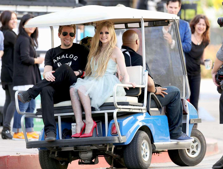 Avril Lavigne 2015 : Avril Lavigne: Filming New Music Video -04