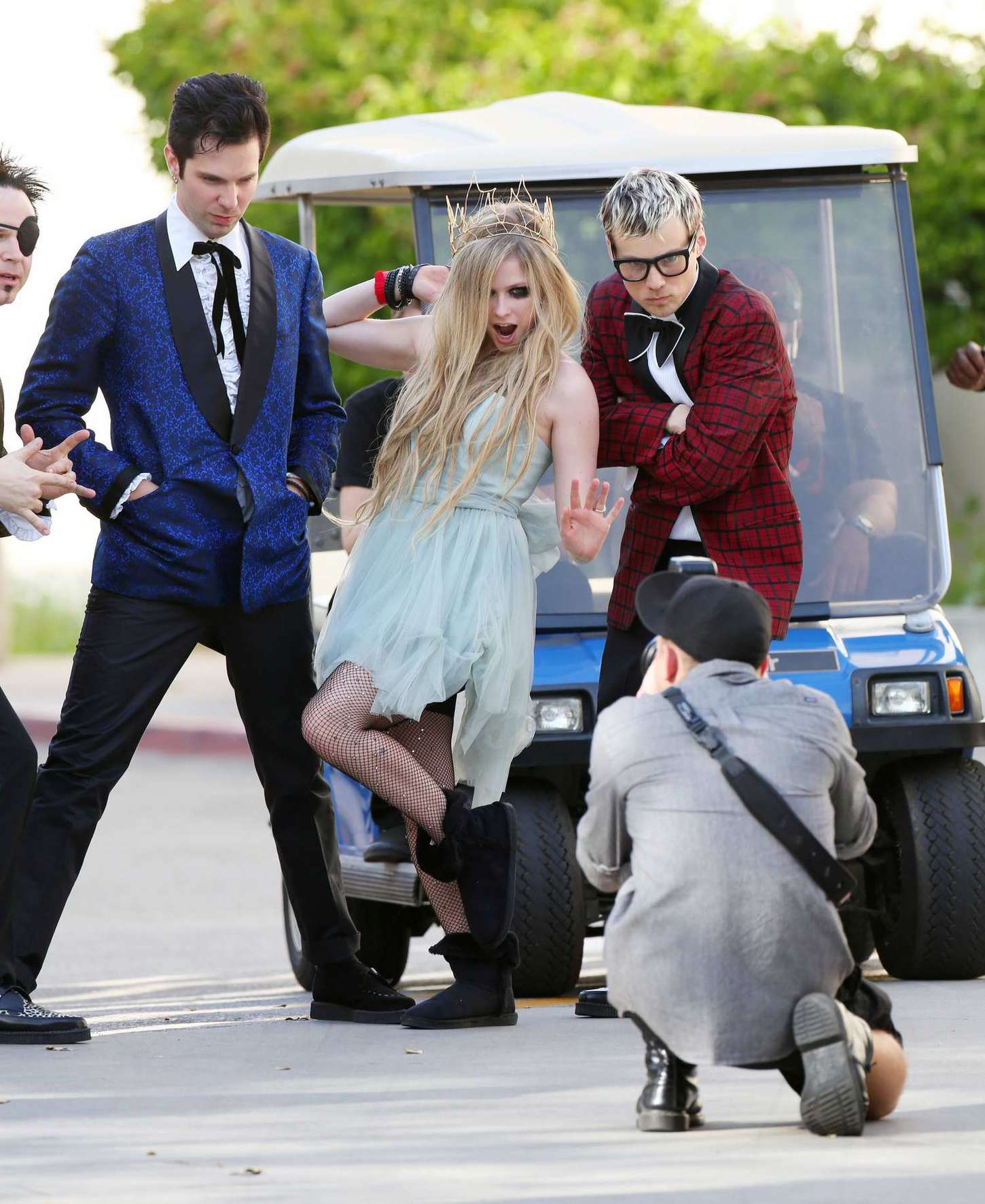 Avril Lavigne 2015 : Avril Lavigne: Filming New Music Video -08