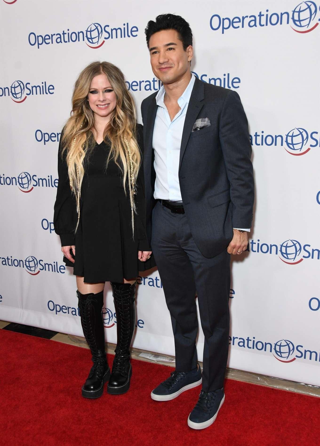 Avril Lavigne 2019 : Avril Lavigne – Operation Smile Hollywood Fight Night-15
