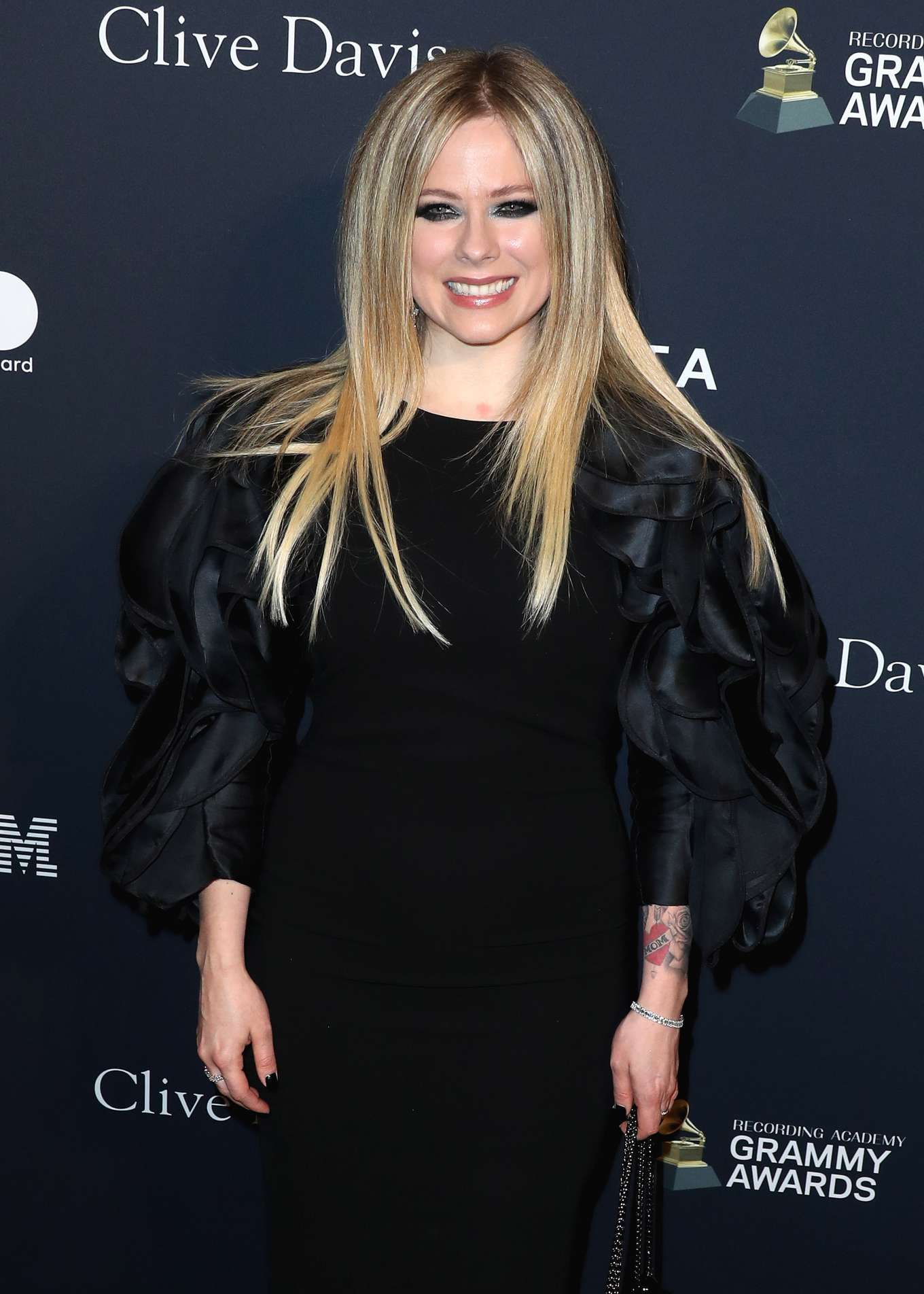 Avril Lavigne - Recording Academy and Clive Davis pre-Grammy Gala in Beverly Hills