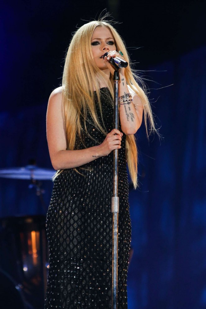 Avril Lavigne -  Special Olympics World Games 2015 Opening Night Ceremony in LA