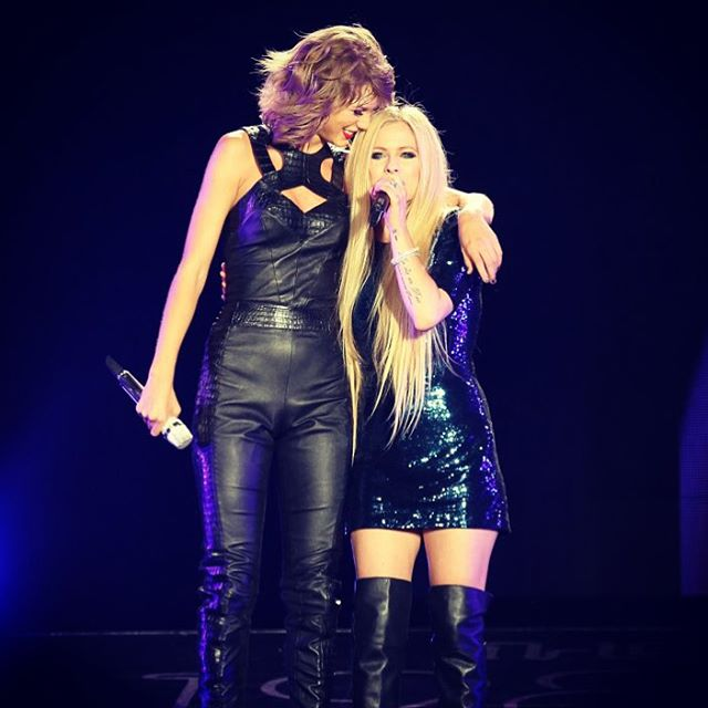 Avril Lavigne & Taylor Swift – The 1989 World Tour Live in San Diego