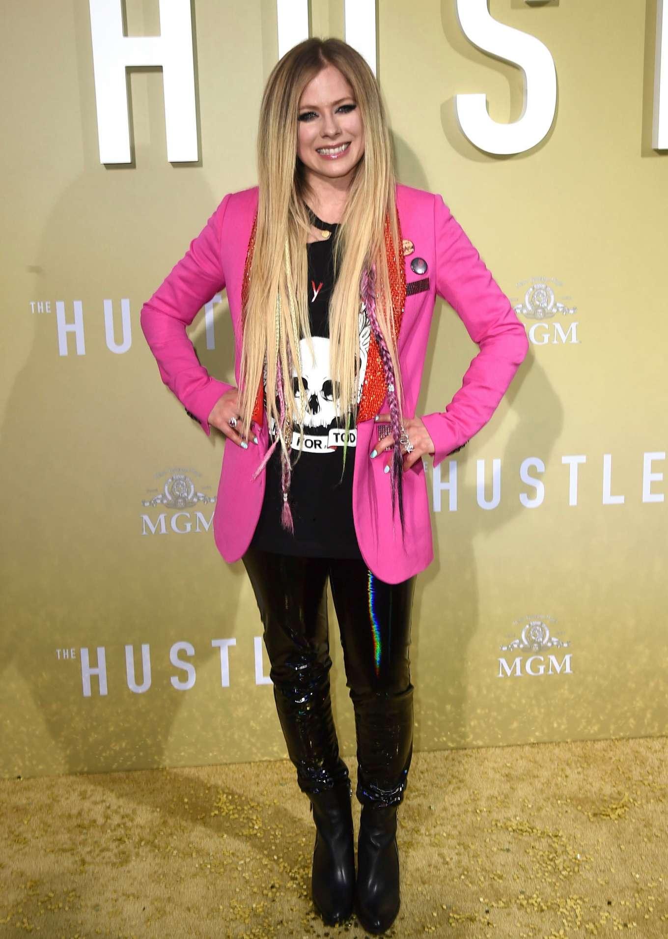 Avril Lavigne 2019 : Avril Lavigne: The Hustle LA Premiere -02