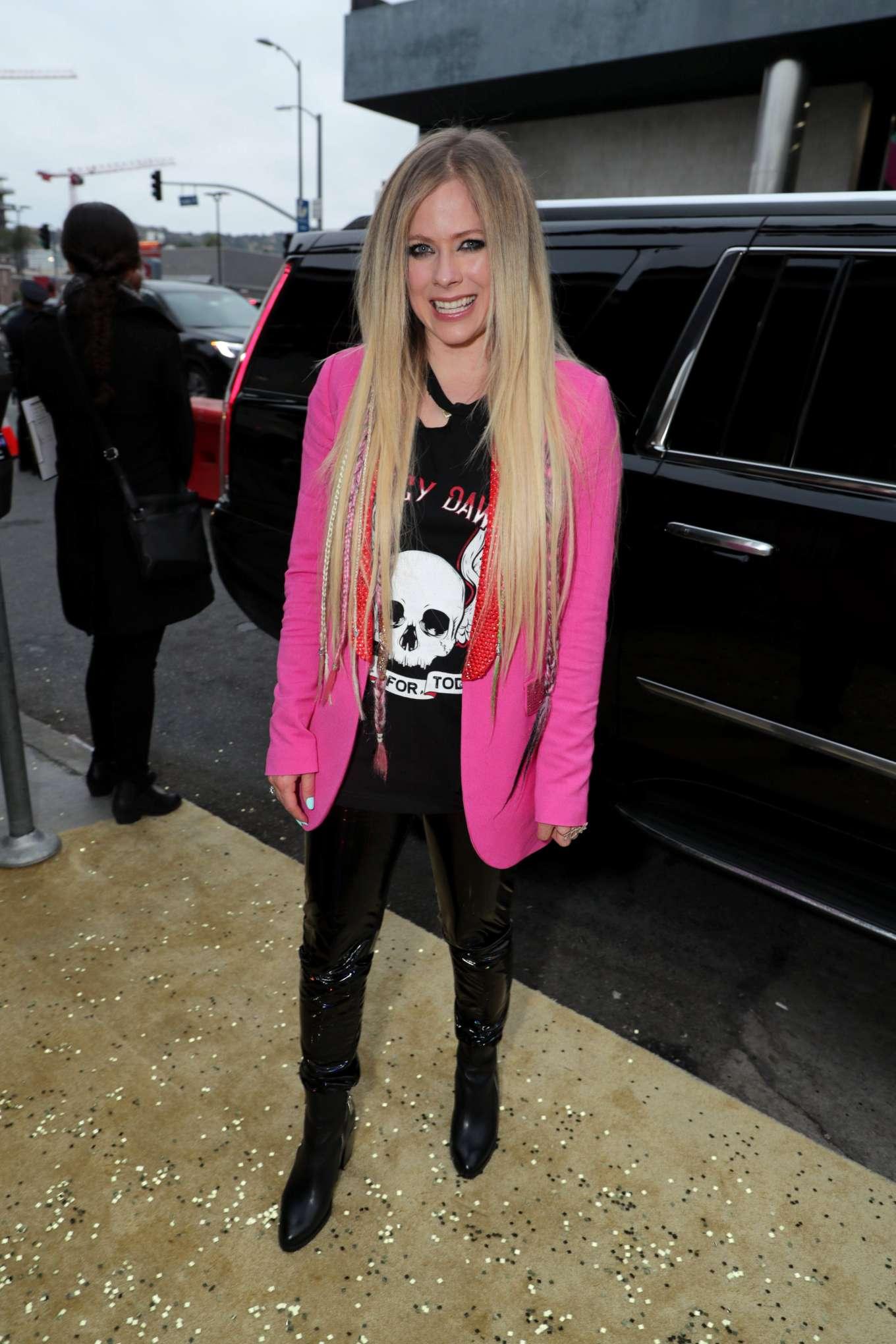 Avril Lavigne 2019 : Avril Lavigne: The Hustle LA Premiere -03