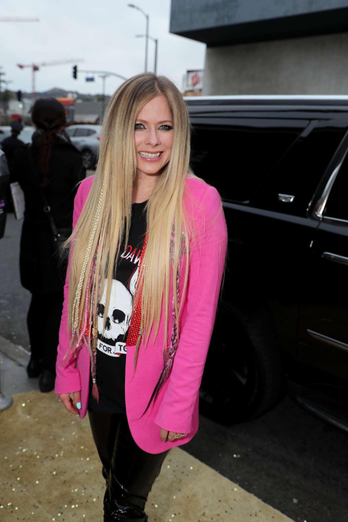 Avril Lavigne 2019 : Avril Lavigne: The Hustle LA Premiere -04