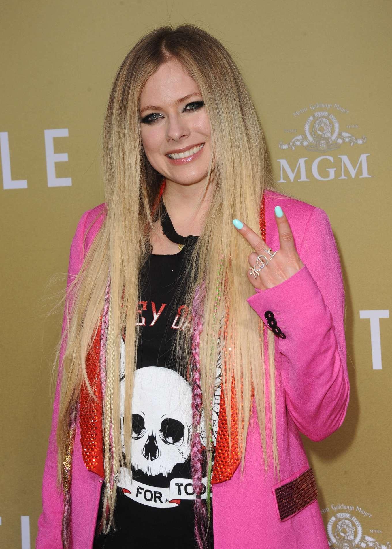 Avril Lavigne 2019 : Avril Lavigne: The Hustle LA Premiere -05