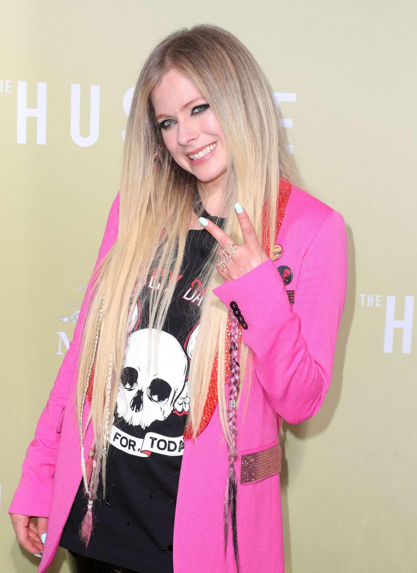 Avril Lavigne 2019 : Avril Lavigne: The Hustle LA Premiere -07
