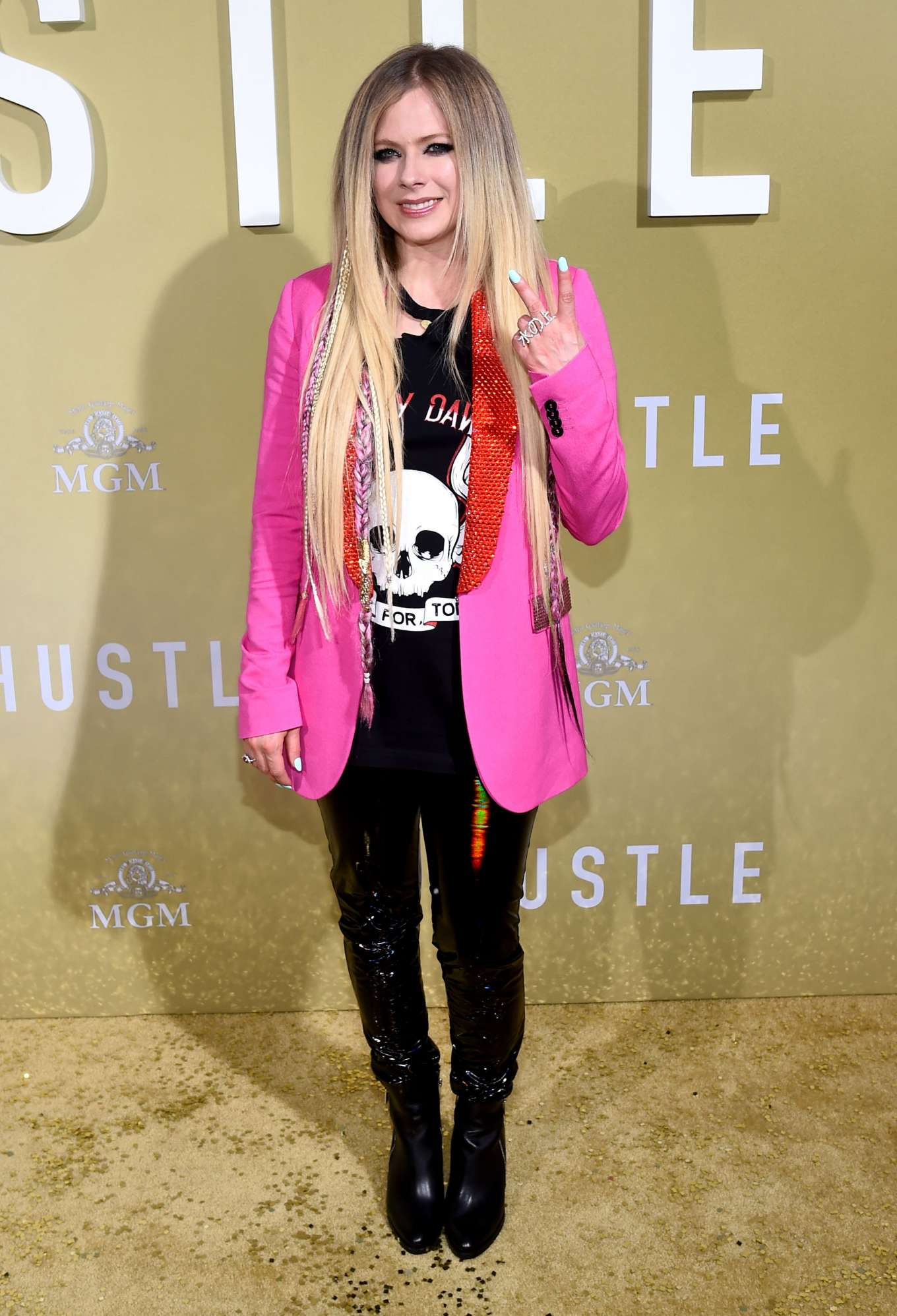 Avril Lavigne 2019 : Avril Lavigne: The Hustle LA Premiere -12