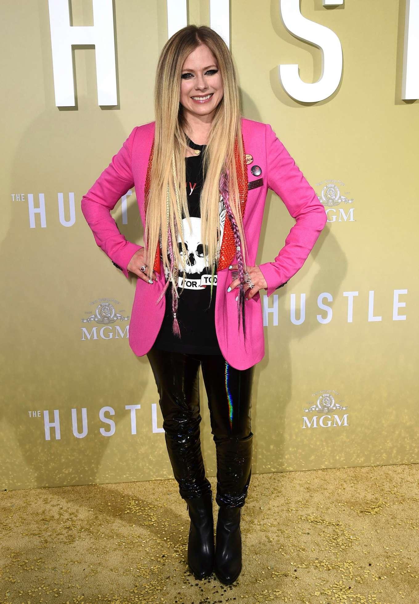 Avril Lavigne 2019 : Avril Lavigne: The Hustle LA Premiere -16